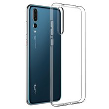 Ultra Thin Soft Silicone Clear Phone Case for Huawei, Samsung, iPhone