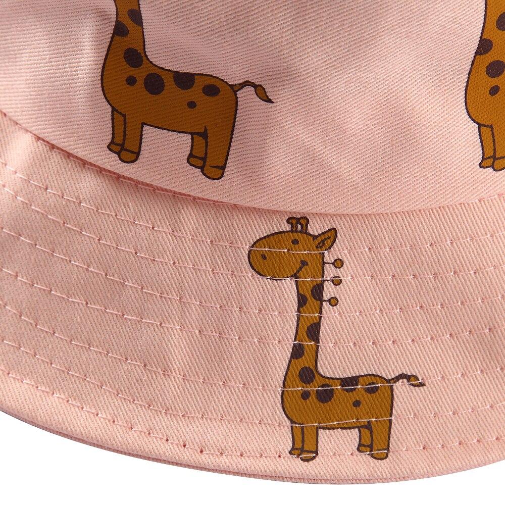 Winfox Moda Preto Rosa Branco Dos Desenhos Animados Giraffe Cervos ... b85eaf6b844