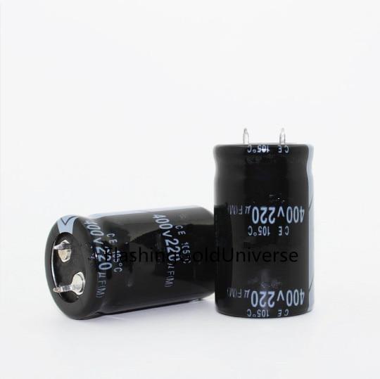 400V 220UF 220UF 400V Electrolytic Capacitor volume 25X40 30X30 best quality