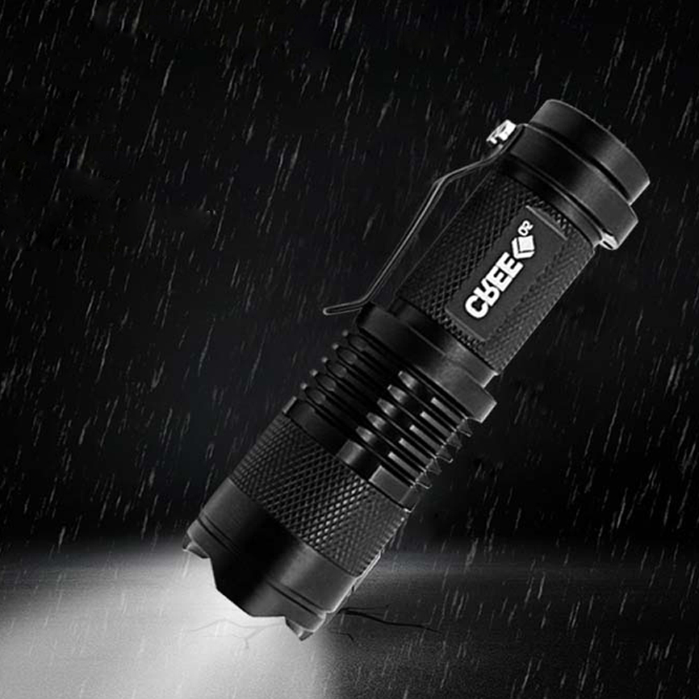 Mini Flashlight Q5 LED Flashlight Torch Lights Outdoors