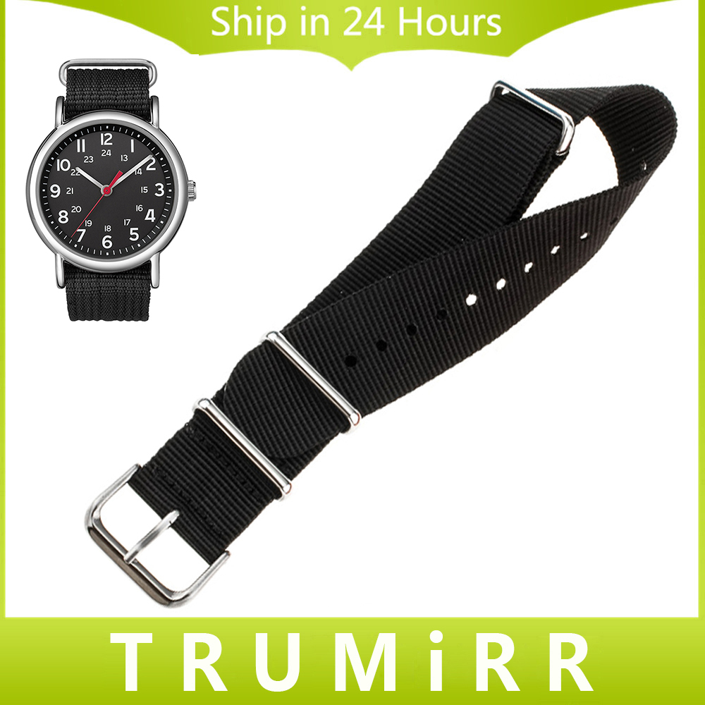 18mm 20mm 22mm Nylon Watch Band for Timex Weekender Expedition Classic Men Women Fabric Strap Wrist Bracelet Multi Colors + Tool timex часы timex tw4b03500 коллекция expedition
