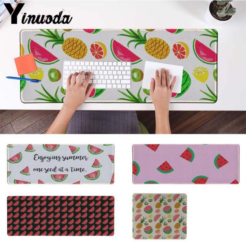 Yinuoda Нескользящие PC арбуз Летние фрукты коврик для мыши геймер играть коврики Размер ...