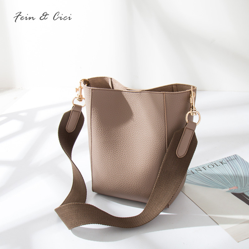 famous brand leather bucket bag women white shoulder bags large strap you crossbody bao bao handbag black grey 2017 new famous brand unique design beach bag nets bucket bags female handbags hollow bao bao women shoulder bags summer totes bag tassel