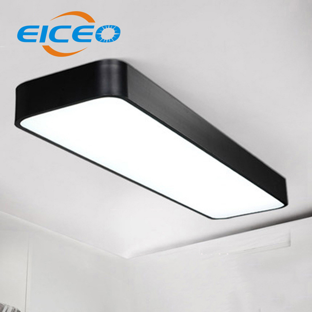 eiceo eenvoudige kantoor plafondlamp led verlichting rechthoekige aluminium gangen entree plafond lampen groothandel licht