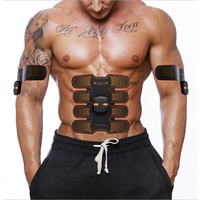Fitness Electric Abdominal Muscle Trainer Home Gym Smart EMS Simulators Exercise Bodybuilding Machine Slimming Workout Equipment