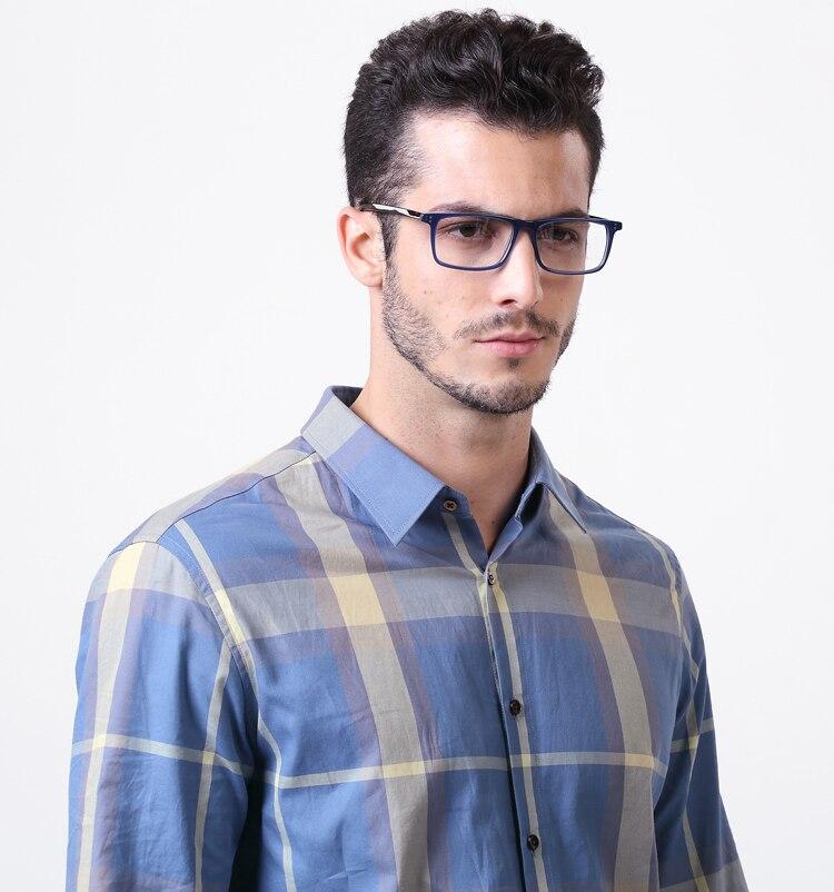 Men\'s Classical Handsome Black Prescription Glasses Rectangular ...