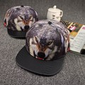 Cayler Sons Hat Wolf Printed Snakeskin Leather Brim Snapback Caps Baseball Cap Hip Hop Cap Snap back Carras Casquette Bone Swag