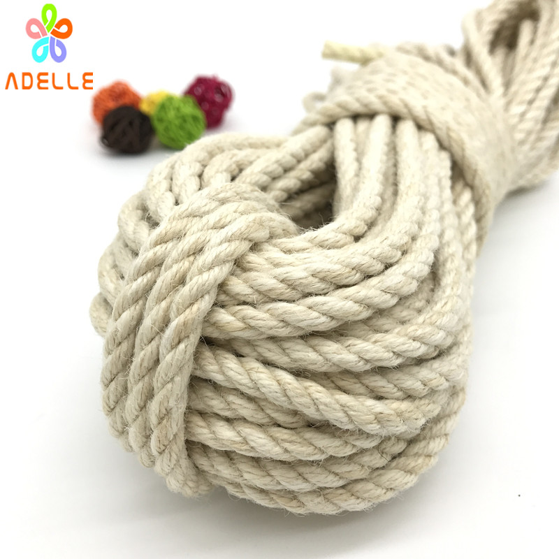 Image 4 - 2 colors twisted shibari bondage jute twine rope 4/5/6mm adult sex toys rope strong DIY gardening free shipping 25m-in Cords from Home & Garden