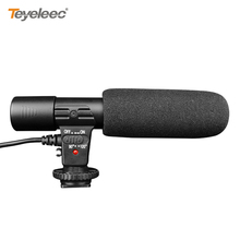 Teyeleec Professional Studio/Stereo Shotgun Recording 3.5mm Microphone for CANON NIKON PENTAX Digital Video SLR Camera