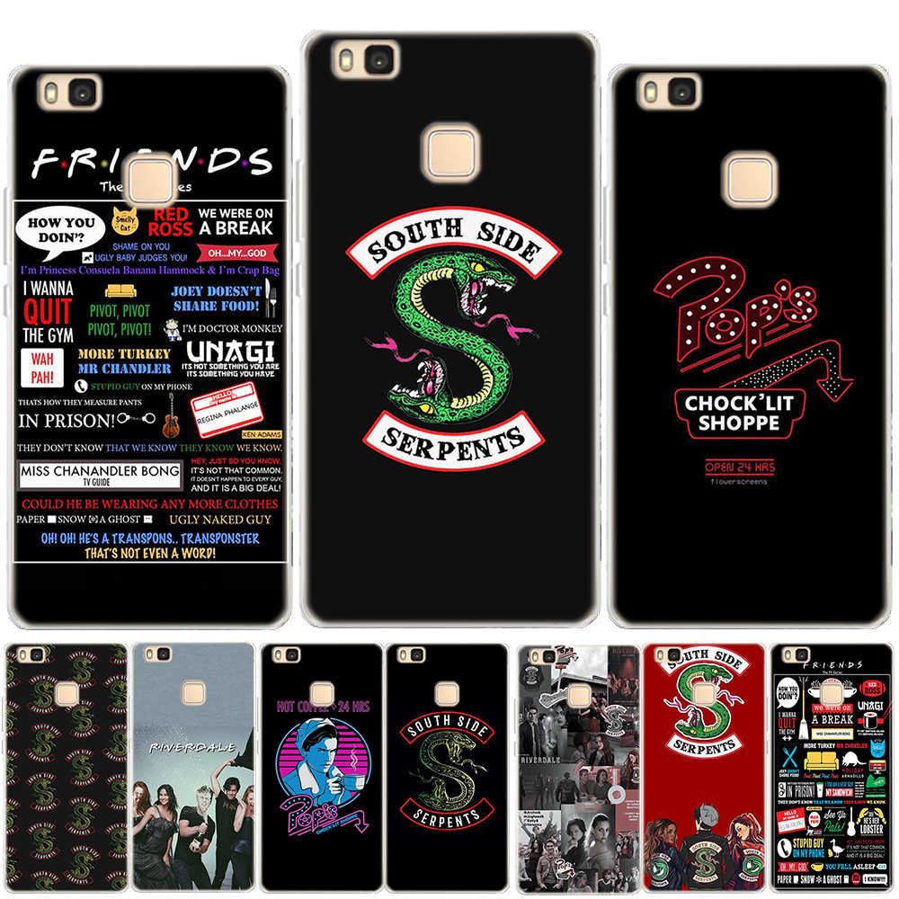 Riverdale Dominant Friends TV Show Soft TPU Cover For Coque Huawei P8 P9 P10 Plus P20 P30 Lite Mate 10 20 Lite Pro Silicon Case