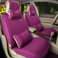 Breathable decorative car seat cover linen mat new high-end for audi kia  car seat cover