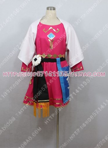 Selling Free shipping Adult Women The Legend of Zelda: Skyward Sword Princess Zelda Costume Outfits Dress
