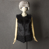 real fox fur vest fox fur coats women real fur gilet