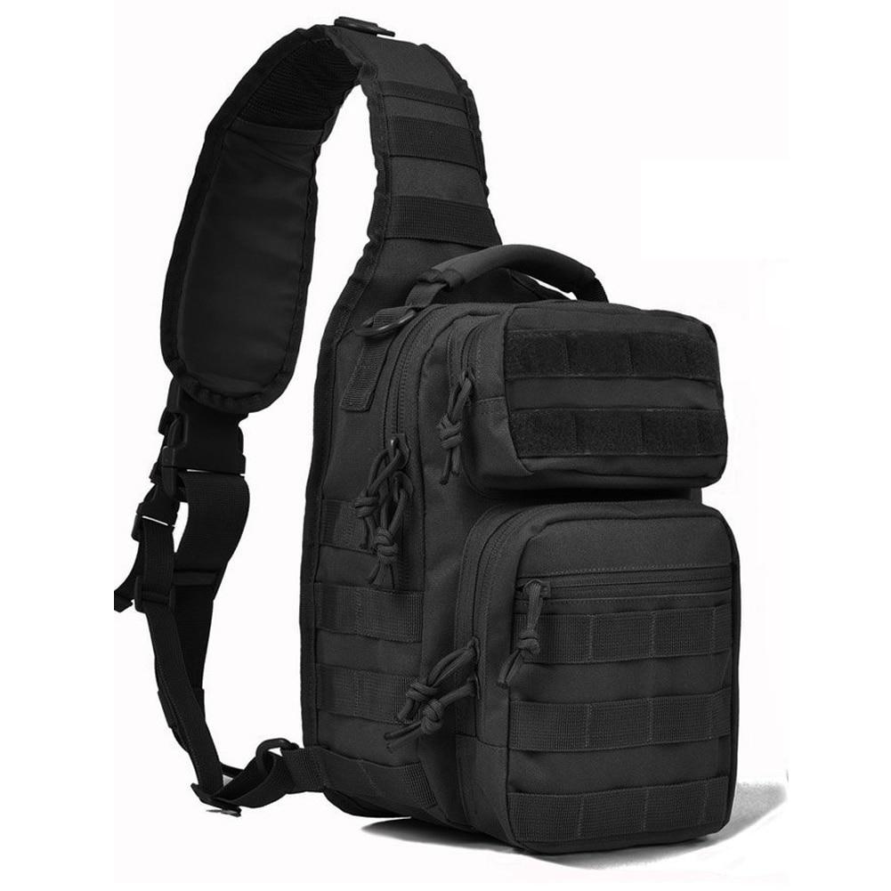 Tactical Sling Bag Pack Military Rover Shoulder Sling Backpack Molle Assault Range Bag Single Backpack For Outdoor Camping цена