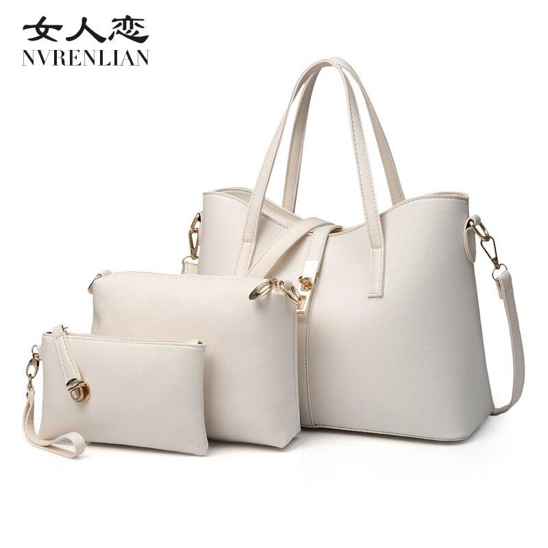 Famous Brand Women Bag Fashion Women Messenger Bags font b Handbags b font PU Leather shpulder