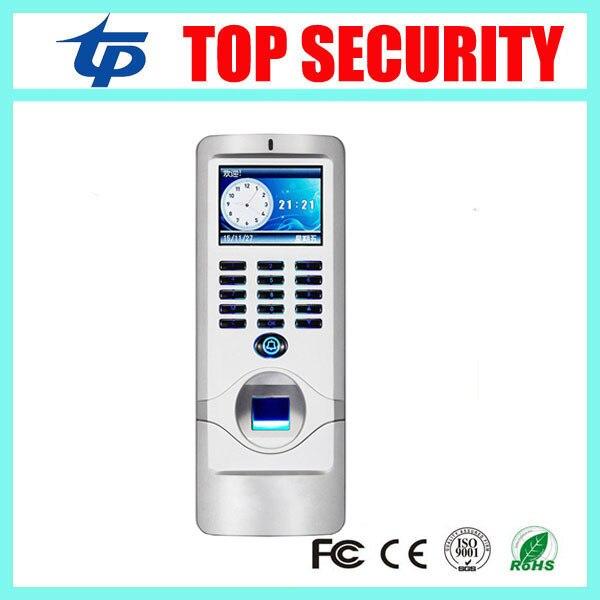 Открытый использовать водонепроницаемый TCP/IP цветной экран отпечатков пальцев и 125 КГЦ RFID, смарт-карты посещаемость времени и система контроля доступа