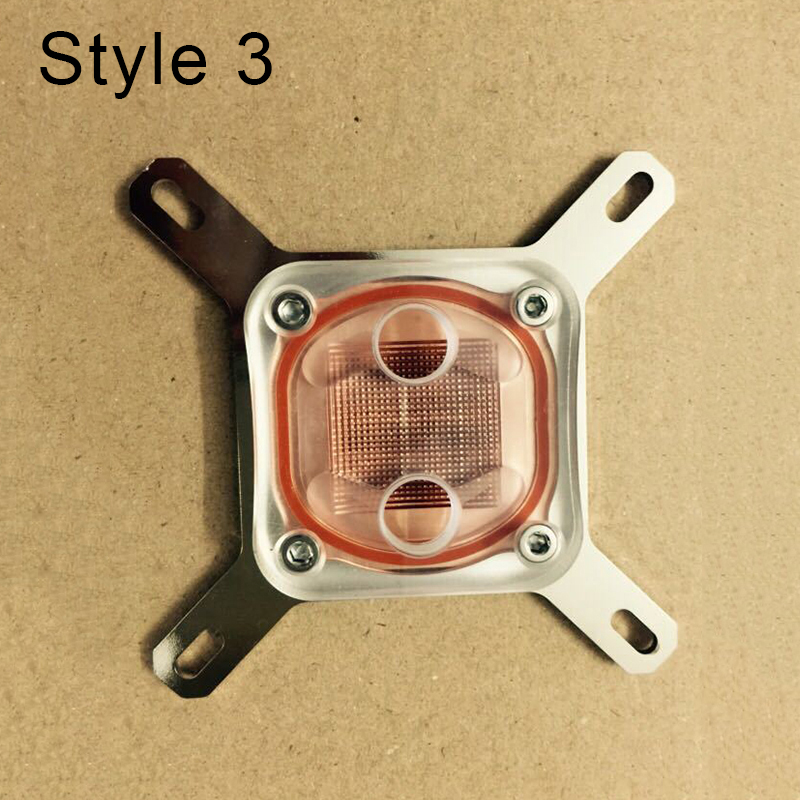Universal CPU Water Cooling for Computer Water Block Cooler Radiator Heatsink Copper Full Platform For Intel & AMD Waterblock