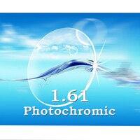 Chỉ số 1.61 photochromic $number ống kính Resin Prescription ống kính cận thị/viễn thị chất lượng cao ống kính quang học