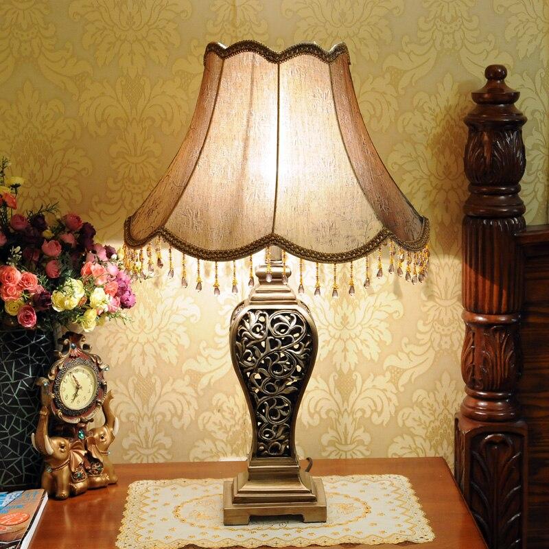 Fashion table lamp ofhead led table lamp bedroom lamp