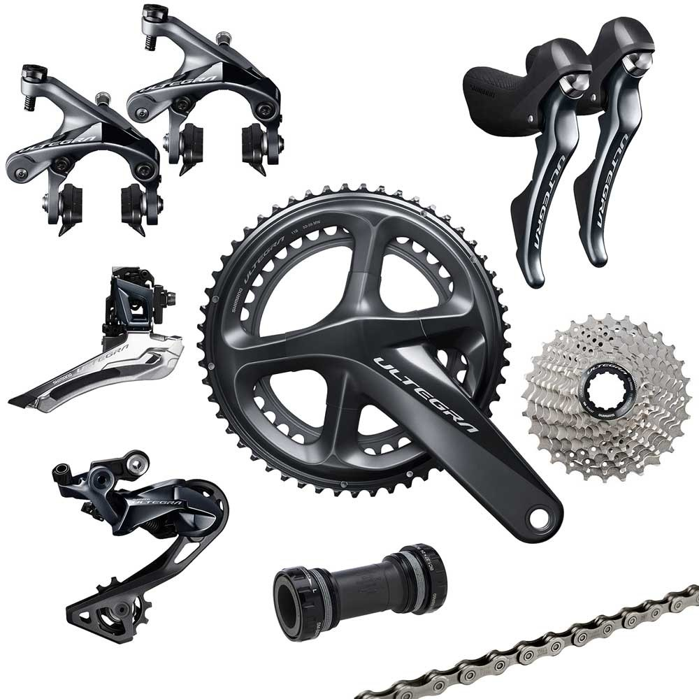 original shimano R8000 bicycle road groupset cycling derailleur 11s cycling bike groupset ultegra 6800 free ship цена