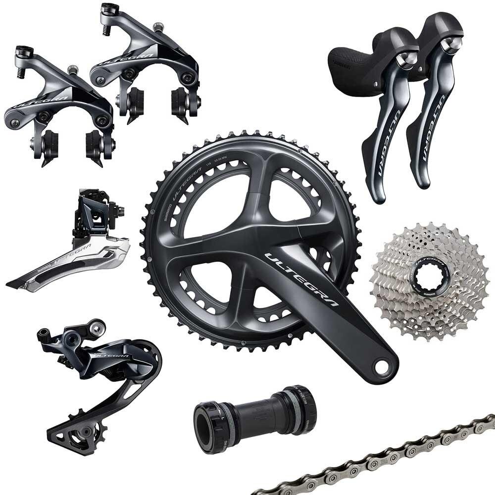 original shimano R8000 font b bicycle b font road groupset cycling derailleur 11s cycling bike groupset
