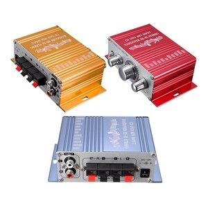 Image 1 - RCA 2CH Hi Fi amplificateur stéréo Booster MP3 haut parleur pour voiture DVD Mini Moto vente chaude