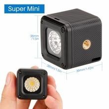 Ulanzi L1 Waterproof Dimmable LED Video Light on Camera ,Adventure Lighting for DJI Yuneec Drones DJI Osmo Pocket DSLRs Gopro