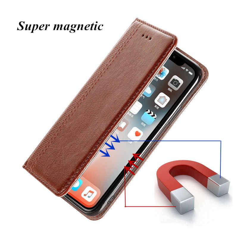 Coque ため Leagoo S8 S9 S10 プロ M11 M9 T5 T5C Kiicaa 電源 2 5 ケースフリップ磁気カバー電話革 & シリコーンポーチ Fundas バッグ