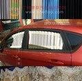 Elástico De la Aleación de aluminio Auto Del Coche Ventana Lateral Trasera Parasol ventana Cortinas cortinas De Encaje para Honda Civic décima Generación 2016 2017