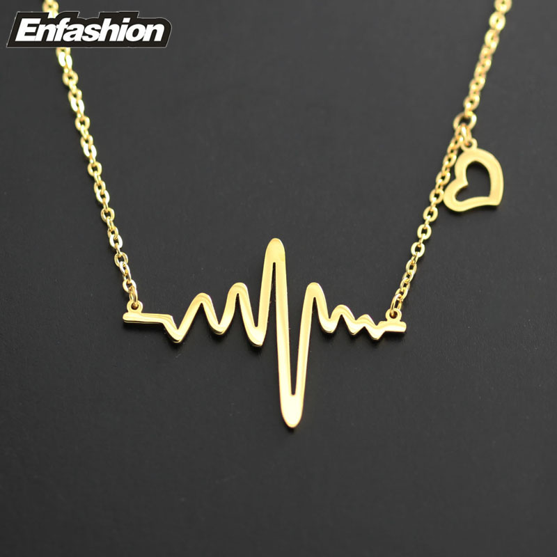 god choker necklace arrival me item steel gold chain love silver pendant new stainless heart jewelry