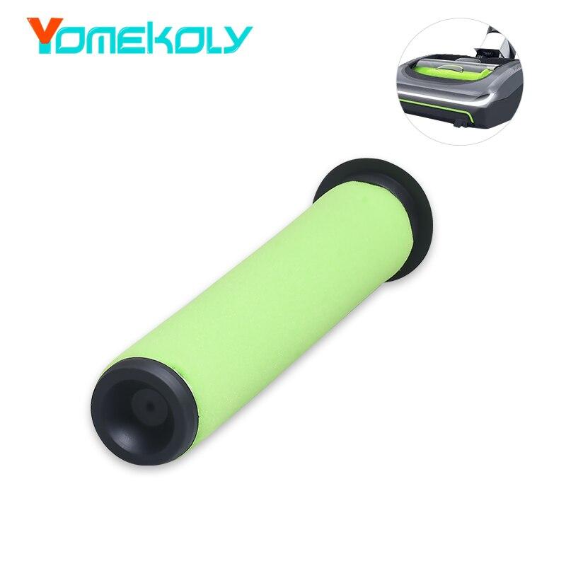 1PC Washable Green Bin Stick Filter for Gtech AirRam Mk2 / AirRam Mk2 K9 Accessories Vacuum Cleaner Dirr BinFilter Parts