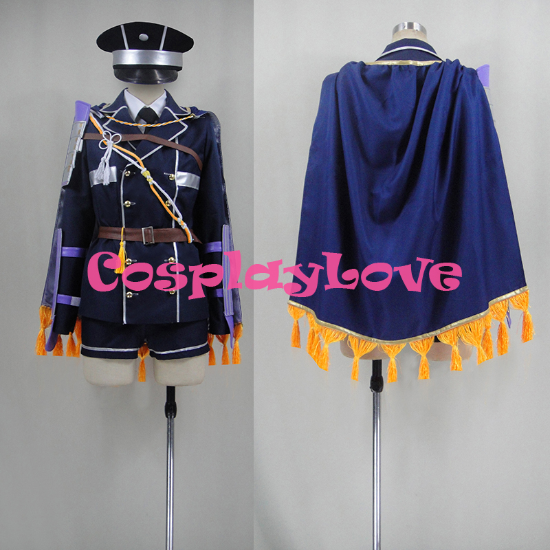 Free shipping Custom Maeda Toushirou Cosplay Costume from Sword Dance Touken Ranbu Online Anime Set Clothing Christmas