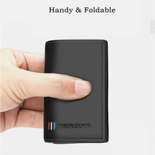 Leather Wallet Men Fashion Bifold Male Short Card Wallet Genuine Leather Coin Purse For Men Card Holder