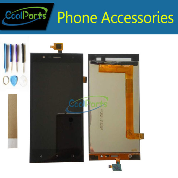 1PC/Lot For Highscreen Boost 3 Pro Boost 3 SE Boost 3 SE Pro Boost 3 LCD Display +Touch Screen Digitizer Black +Tool&Tape