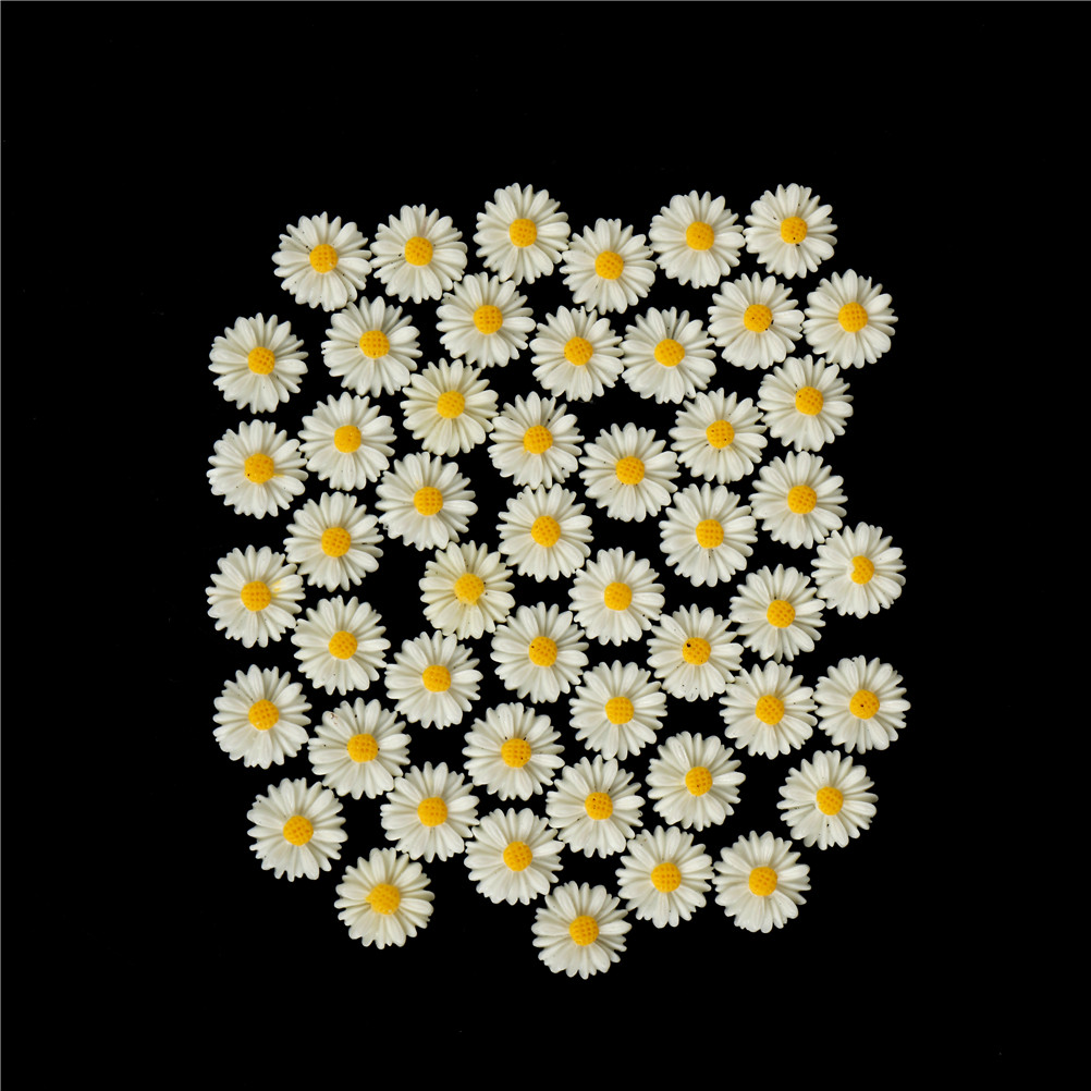 20pcs Cute Resin Sunflower Flower Flatback Scrapbooking DIY Phone //Craft L//