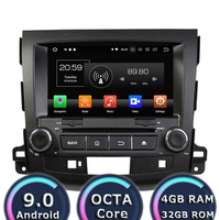 Roadlover Android 9.0 Car Multimedia DVD Player Autoradio For Mitsubishi Outlander 2006 2012 Stereo GPS Navigation Magnitol 2Din