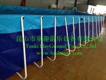 Extra large family swimming pool square mount child adult folding paddling pool swimming pool
