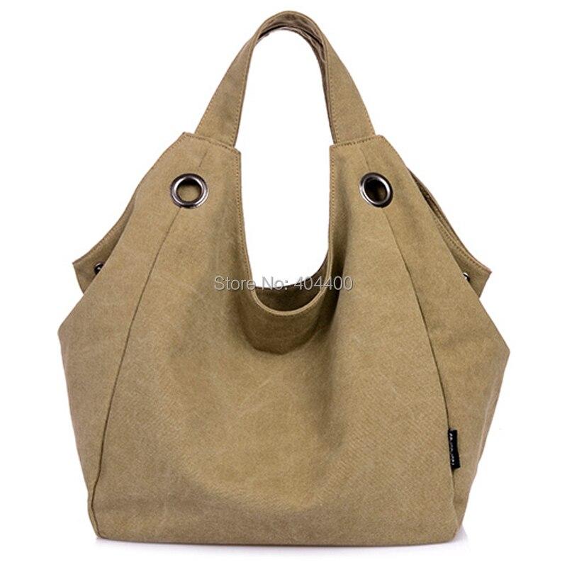#2279 2014 New Canvas Casual Big Women bag Korean Style Female Handbag Fashion Shoulder bags Good Quality Brand Shopping Tote