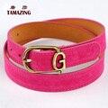 11colors women's faux leather belt fashion OL style belts high quality designer G letter buckle belts for women