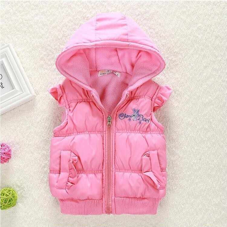 a6d28ffa4 ... Big Size Baby Girls Jackets 2017 Autumn Winter Jacket For Girls Winter  Minnie Coat Kids Clothes ...