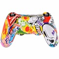 Hot NEW Skeleton Gamepad Controller Housing Shell W/Buttons Kit for PS4 Handle Cover