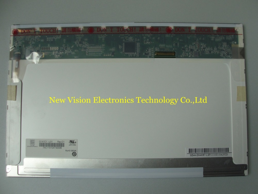 G141C1 L01 Brand New Original A quality 14 1 inch LCD screen for Industrial Equipment