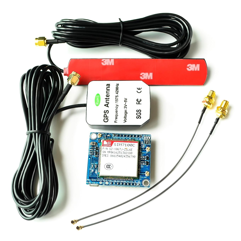 Réseau EU SIM7100E SIM7100C SIM7100 carte de développement de Module 4G + antenne pour Arduino Raspberry Pi Android Linux Windows