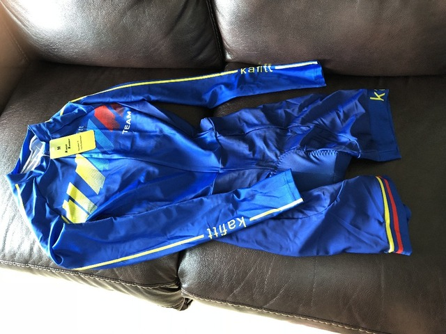 2019 pro equipe triathlon terno feminino camisa de ciclismo skinsuit macacão maillot ciclismo ropa ciclismo conjunto manga longa almofada gel 027 3
