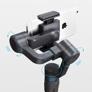 Image 5 - Feiyu Vimble 2 Erweiterbar Handheld Telefon Gopro Gimbal Video Stabilisator für iPhone X 8 7 Gopro Hero 6 Xiaomi Yi samsung S8