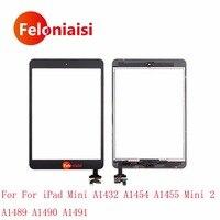 10 Adet/grup DHL EMS iPad Mini A1432 A1454 A1455 Için Mini 2 A1489 A1490 A1491 Dokunmatik Ekran Digitizer Sensörü IC Bağlayıcı Ev