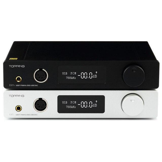 Topping DX7S 2*ES9038Q2M 32Bit/768K DSD512 DSD USB Full Balanced DAC Headphone Amplifier 2