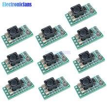 10 pçs/lote tamanho ultra-pequeno DC-DC step down power module 3a conversor buck ajustável 1.8 v 2.5 v 3.3 v 5 9 v 12 v step-down