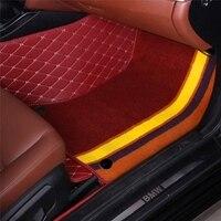 Автомобильные коврики для Mazda 2 3 Axela 6 8 5D CX5 CX 5 CX7 случае автомобиль Стайлинг ковер тяжелых Нескользящие идеальный rugs вкладыши