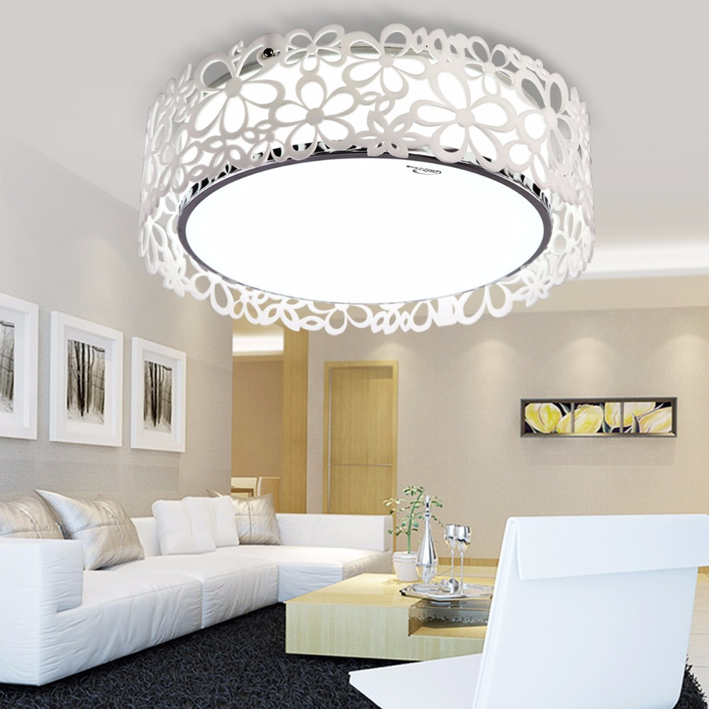 18W 24W 40W Carved Acrylic Led Ceiling Light Modern Brief Fashion Married Ceiling Lamp Living Room Bedroom Home Decor Lamps Ligh